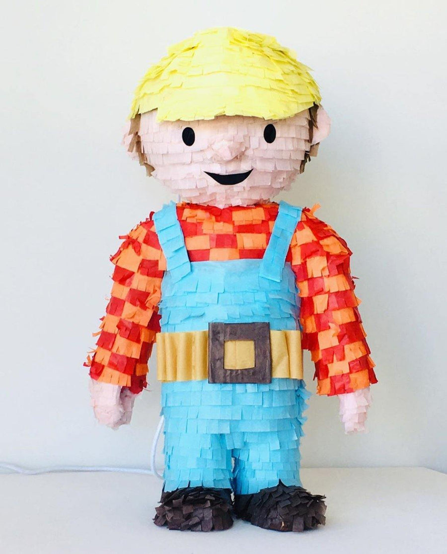 Bob the Builder Piñata - Bickiboo Designs