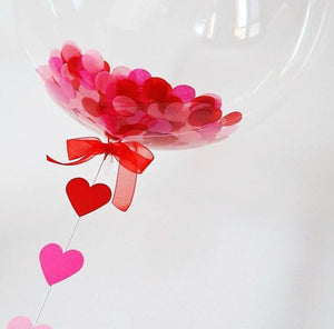 Confetti bubble balloon - Bickiboo Designs