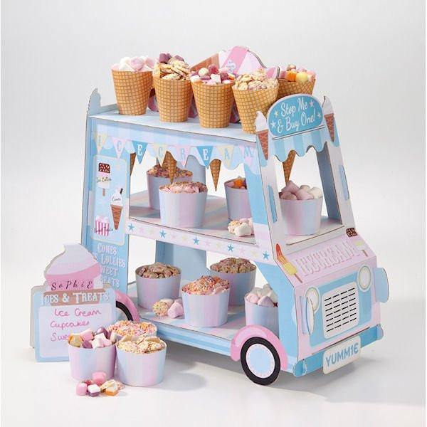 Ice Cream Van Food Stand - Bickiboo Designs