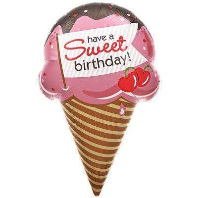 Giant Sweet Birthday Ice Cream Balloon