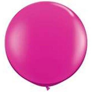 Giant Jewel Magenta Balloon - 90cm