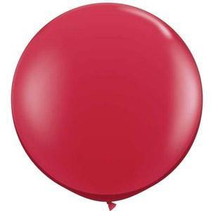 Jewel Ruby Red Balloon - 90cm - Bickiboo Designs