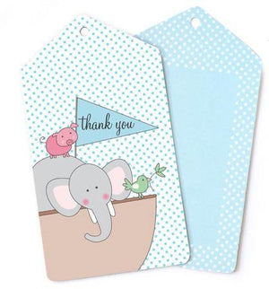 Noahs Ark Gift Tag - Bickiboo Party Supplies
