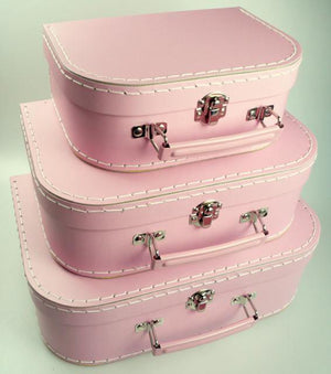 Mashmellow Pink Euro Suitcases - Bickiboo Party Supplies