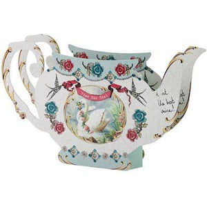 Pastries & Pearls Teapot Vase - Bickiboo Party Supplies
