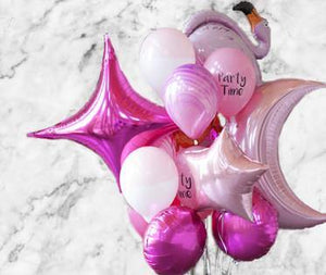 Party Girl Foil Balloon Bouquet - Bickiboo Designs