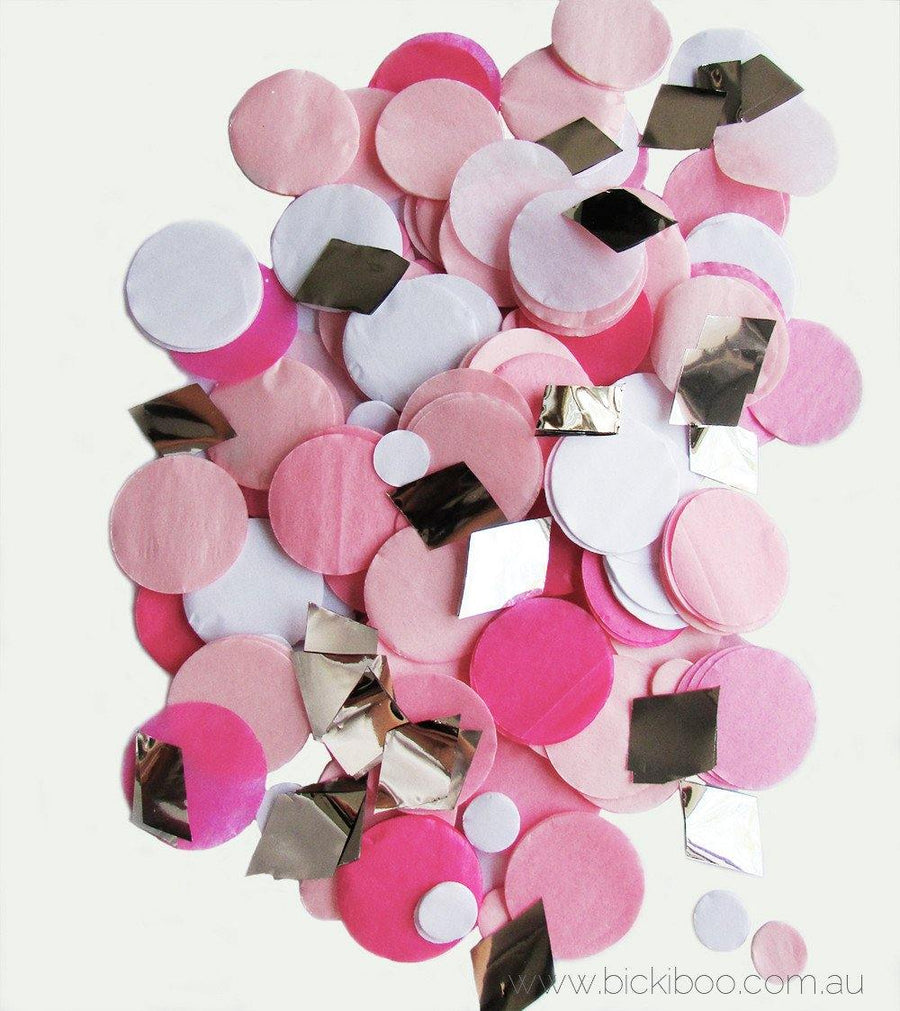Confetti Balloon Revealer For Gender Reveal Parties (uninflated) - Pink - Bickiboo Designs