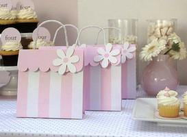 Pink Princess Party Bag - Bickiboo Designs
