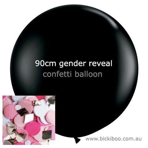 Confetti Balloon Revealer For Gender Reveal Parties - Pink