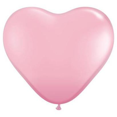 Giant heart shaped balloon Pink - 90cm - Bickiboo Party Supplies