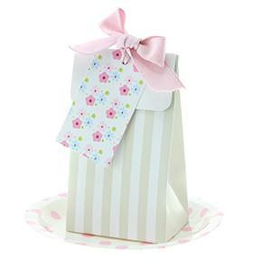 Sambellina Champagne Stripe Party Bag - Bickiboo Party Supplies
