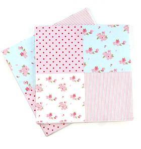 Sambellina Floral Patchwork Napkins - Pack of 20 - Bickiboo Party Supplies
