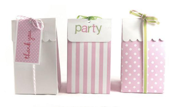 Sambellina Party Bags - Pink - Bickiboo Party Supplies