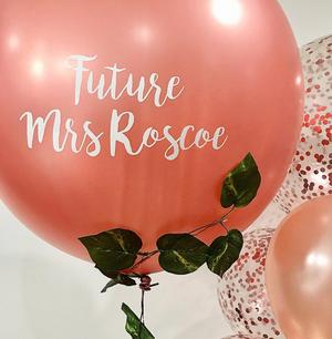 Jumbo Balloon - Rose Gold - Bickiboo Designs