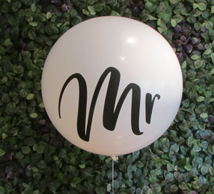 Giant 90cm Mr Balloon
