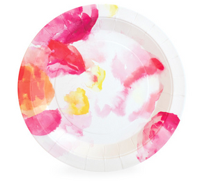 Floral Escape Dessert Party Plate - Bickiboo Designs
