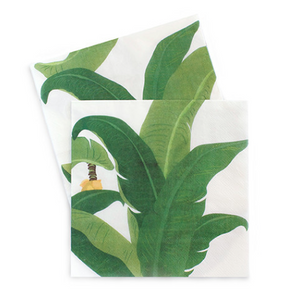 Troppo Leaf Dinner Napkins- 20pack - Bickiboo Designs