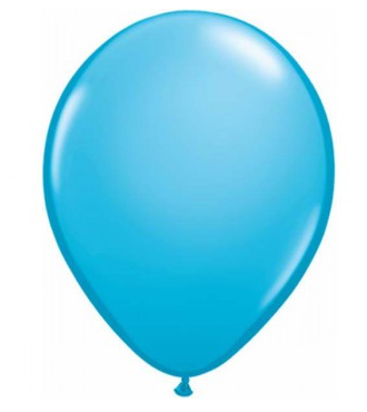 Fashion Robin's Egg Blue Mini Balloons - 12cm (5 pack)