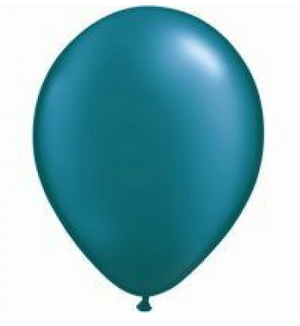 Pearl Teal Mini Balloons - 12cm (5 pack)