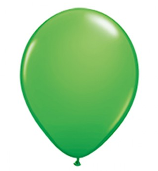 Spring Green Mini Balloons - 12cm (5 pack)