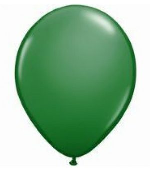 Green Mini Balloons - 12cm (5 pack)