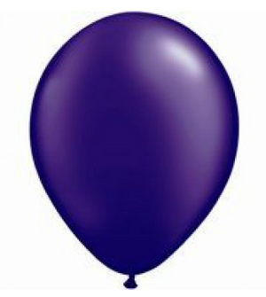 Pearl Quartz Purple Mini Balloons - 12cm (5 pack)