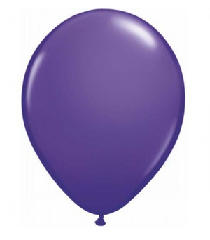 Fashion Purple Violet Mini Balloons - 12cm (5 pack)