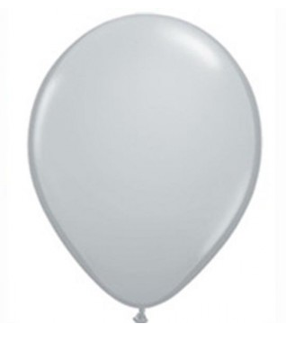 Fashion Grey Mini Balloons - 12cm (5 pack) - Bickiboo Designs