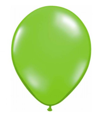 Jewel Lime Green Mini Balloons - 12cm (5 pack) - Bickiboo Designs
