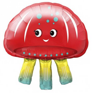Jellyfish Foil Balloon  69cm - Bickiboo Designs