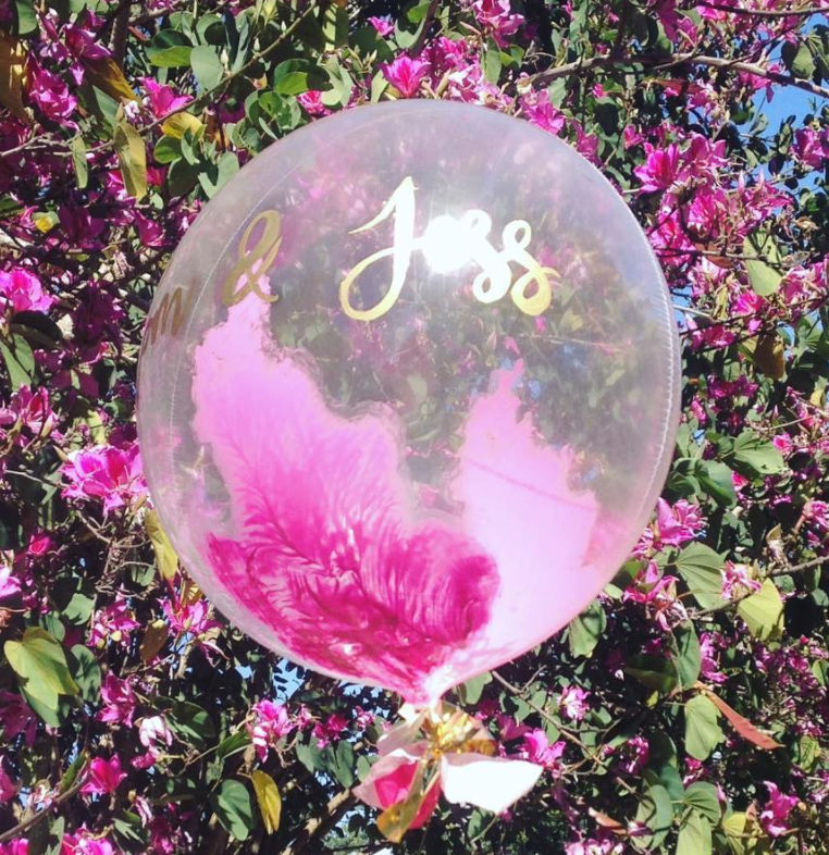 Personalised handpainted Balloon