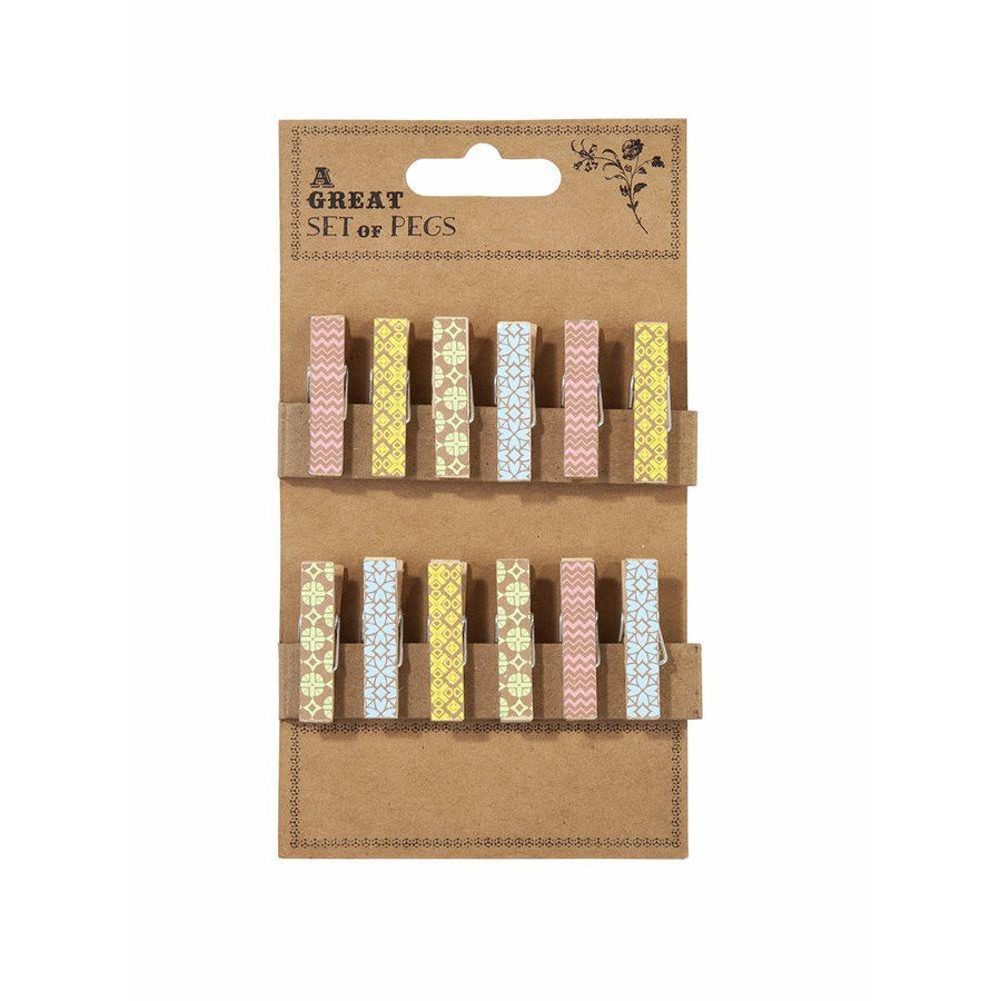 The Wrapping Room Pegs - Bickiboo Designs