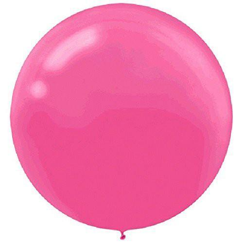 Bright Pink Large 60cm Balloon - Bickiboo Designs