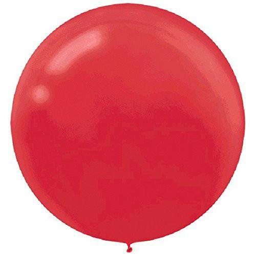 Apple Red Large 60cm Balloon - Bickiboo Designs