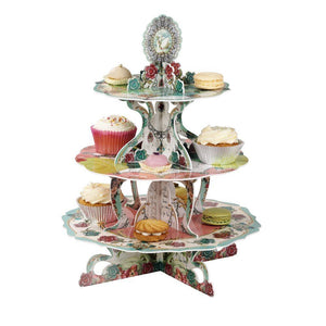 Pastries & Pearls Three Tiered Cakestand - Bickiboo Designs