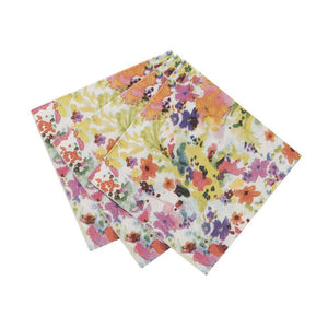 Floral Fiesta Amuse Bouche Napkin - Bickiboo Party Supplies
