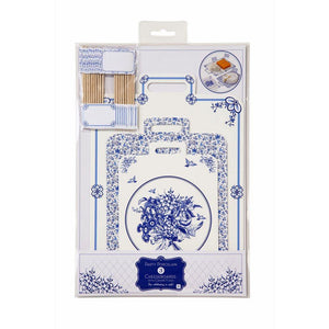 Party Porcelain Blue Cheese Board - Bickiboo Designs