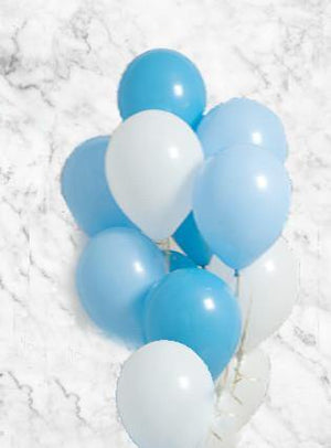 Baby Boy Balloons Bouquet - Bickiboo Designs