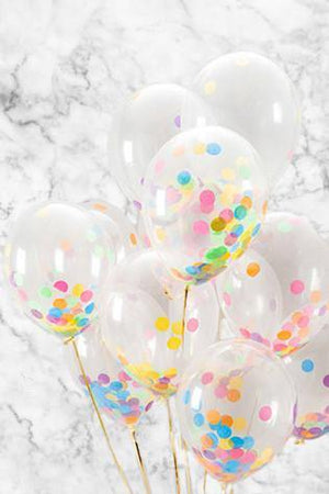Bright Confetti Balloons Bouquet