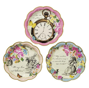 Truly Alice Dainty Plates - Bickiboo Designs
