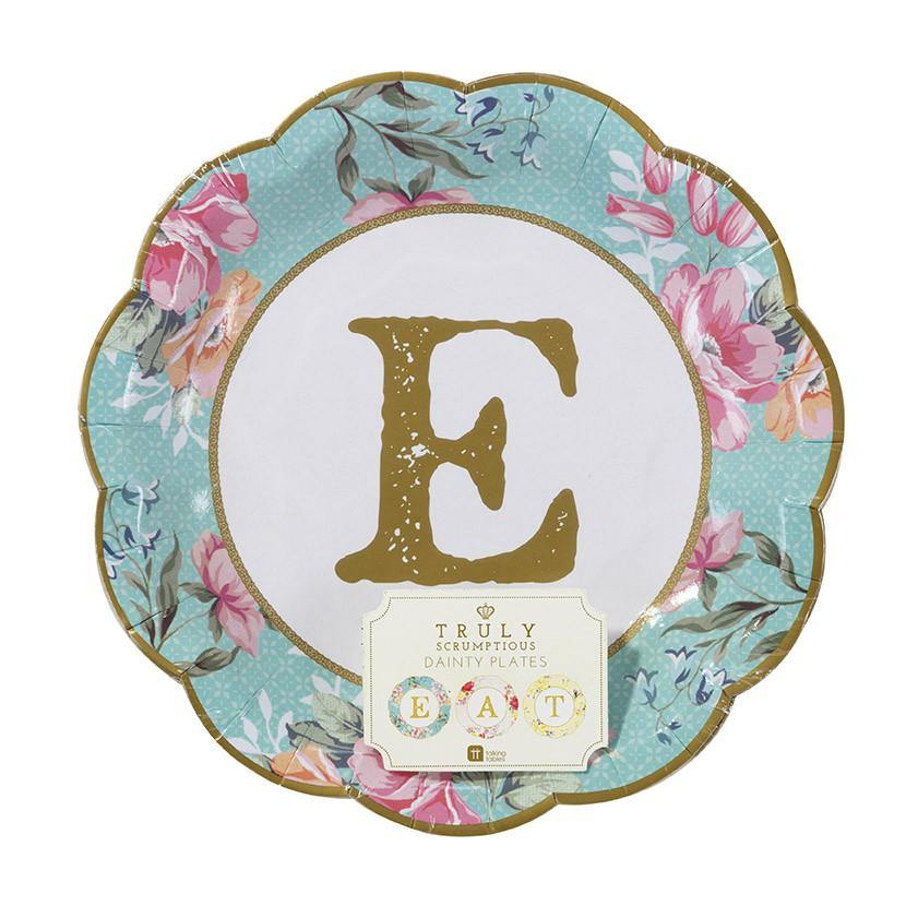 Truly Scrumptious Small Party Plates - Bickiboo Designs