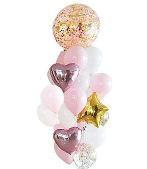 Pink & Gold Balloon Pack - Bickiboo Designs
