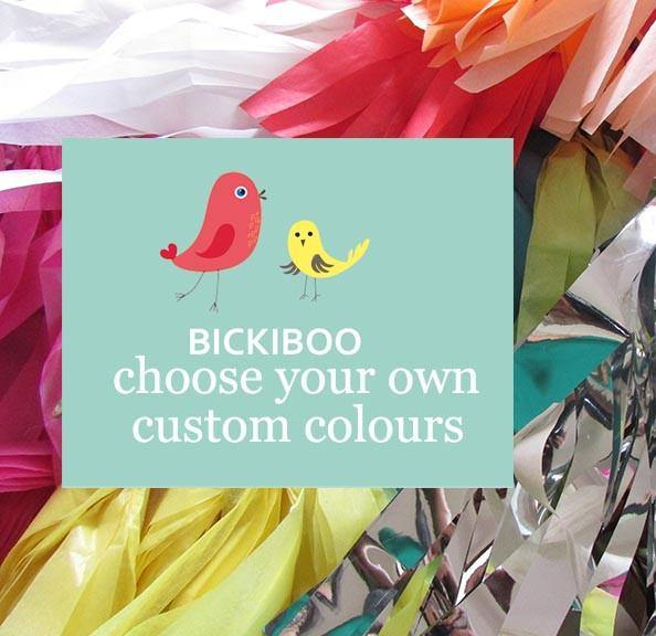 Request a Custom Order - Petite Balloon Tassel Tail - Bickiboo Party Supplies
