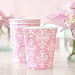 Damask Party Cup - Bickiboo Designs