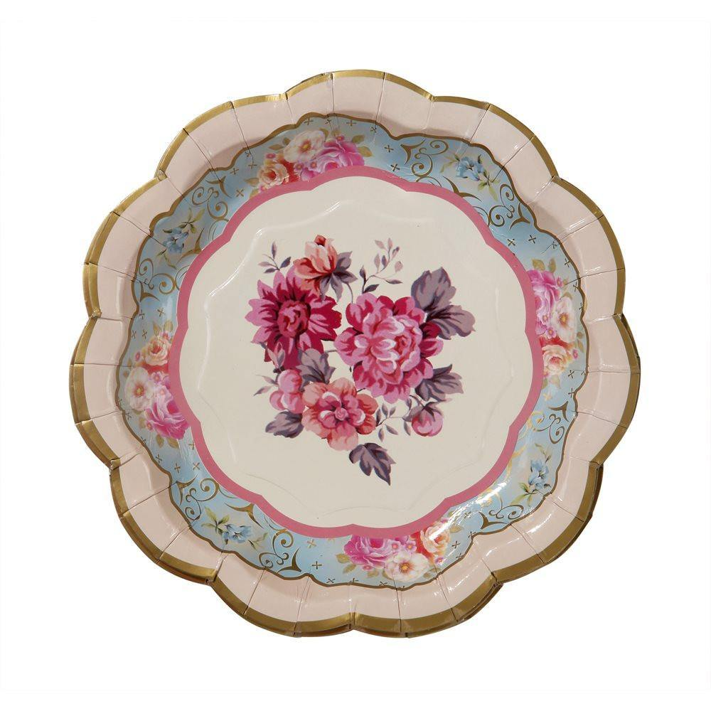 Truly Scrumptious Vintage Tea Party Plates