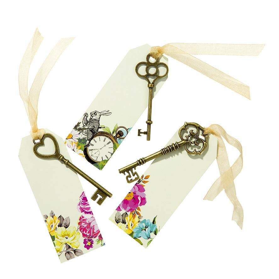 Truly Alice Curious Keys & Tags