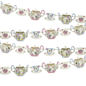 Truly Alice Teapot Bunting - Bickiboo Designs