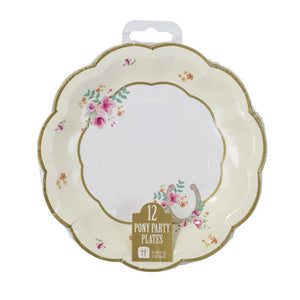 Pony Party Plates - Bickiboo Designs