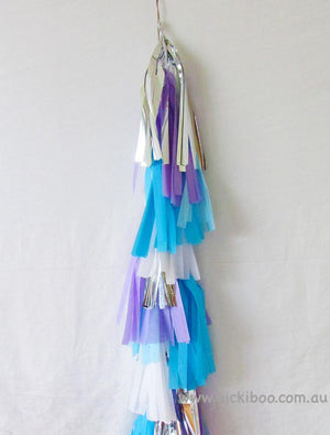 Balloon Tassel Garland - Frozen - Bickiboo Party Supplies