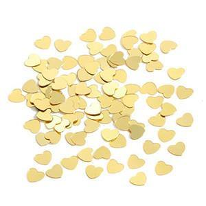 Tiny Gold Heart Table & Invite Confetti
